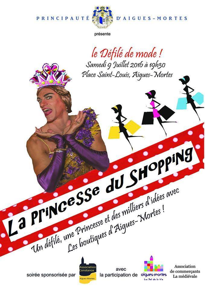 affiche defile aigues mortes